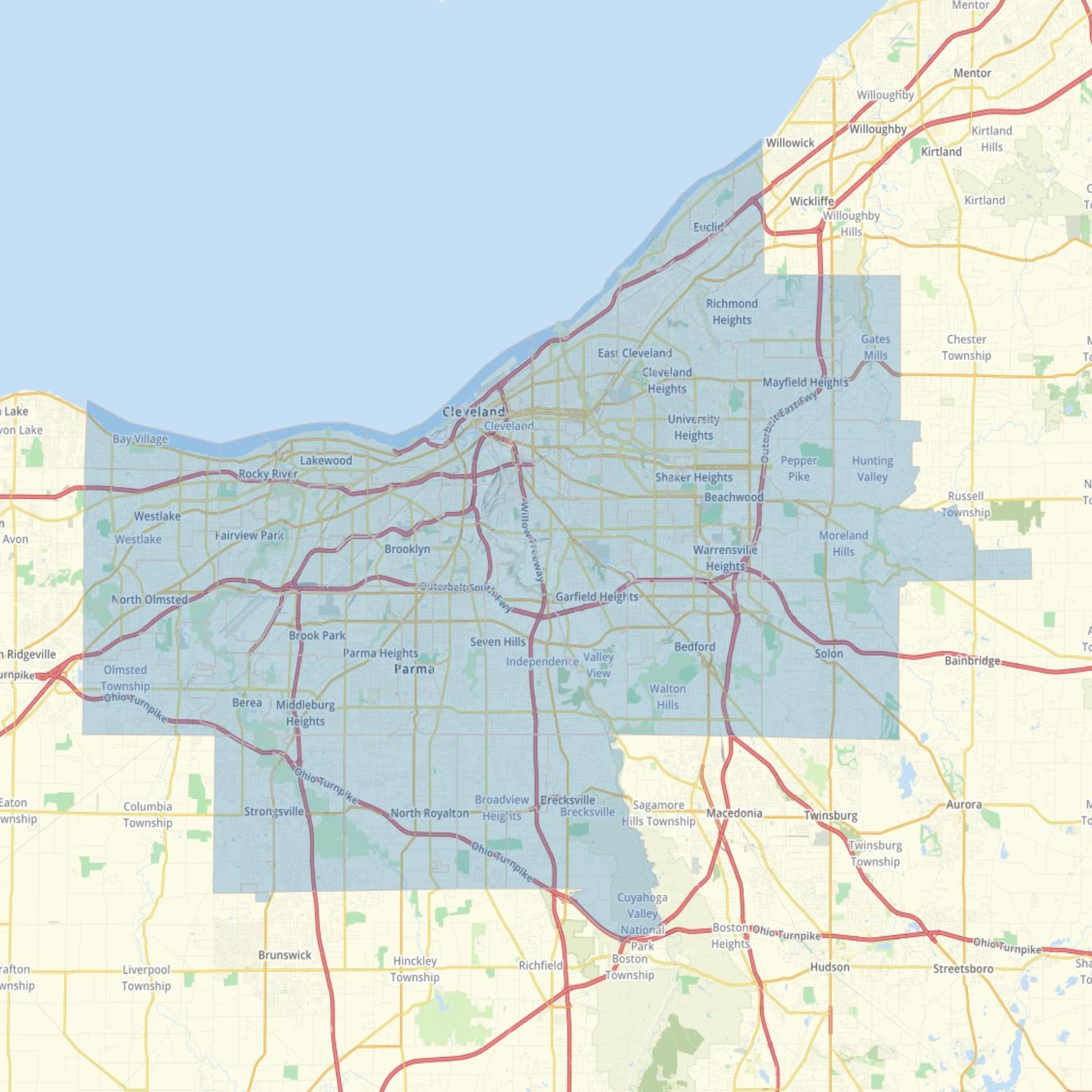 Mobile County Zip Code Map.Adopt A Zip Code Cuyahoga County